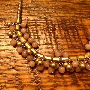 Gold/Pink Necklace